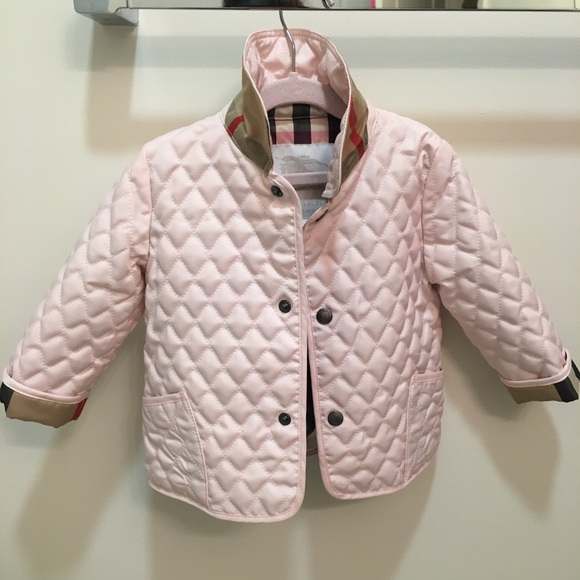 Burberry Jackets Coats Girls Colin Quilted Jacket Poshmark